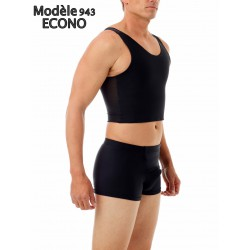 Underworks Ultimate Chest Binder Tank (Long Blanc)