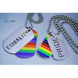 Collier LGBT