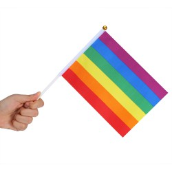 LGBT Little Flag X 3