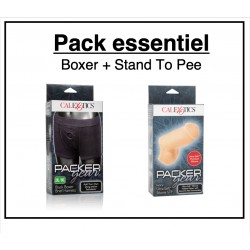 Pack essentiel Stand to Pee et Boxer